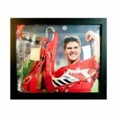 Бутса в автографом Стивена Джерарда Gerrard Signed Boot (Framed)